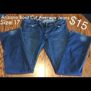 Arizona Boot Cut Average Jeans - Size 17